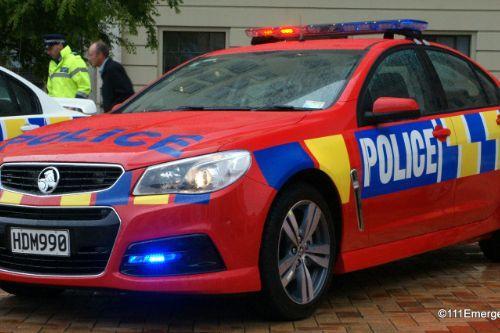 New Zealand Police Siren