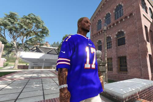 NFL - Buffalo Bills Josh Allen 4k jersey (2020-21)