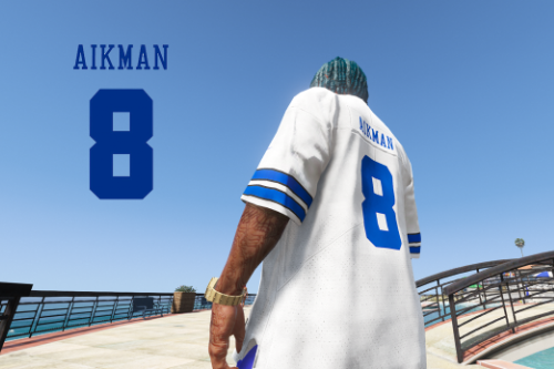NFL - Dallas Cowboys Troy Aikman 4K Throwback Jersey