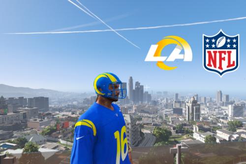 NFL - Los Angeles Rams 4K Helmet for MP male