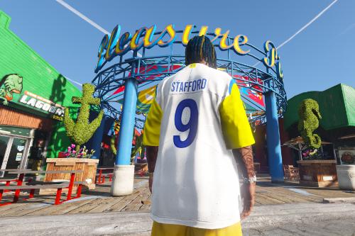 NFL - Los Angeles Rams Matthew Stafford Modern Throwback jersey (2021-22)