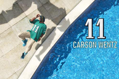 NFL - Philadelphia Eagles Carson Wentz 4K Jersey (2020-21 season)
