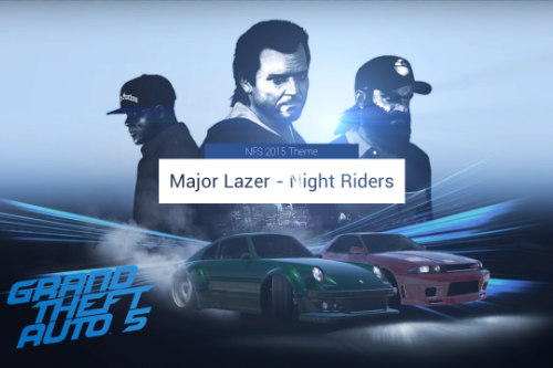 NFS 2015 Theme as loading music