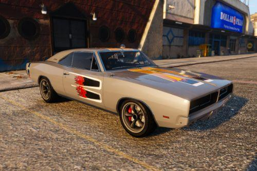 NFS Carbon Samson's Dodge Charger R/T Livery