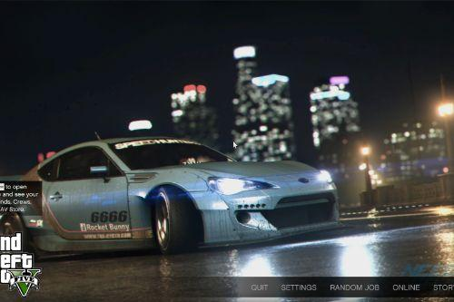 NFS Loading Screens