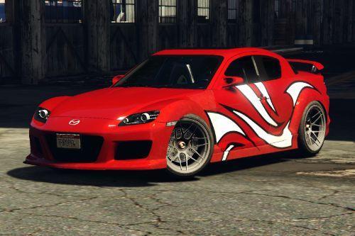 NFS MW Mia Mazda RX-8 (Livery)