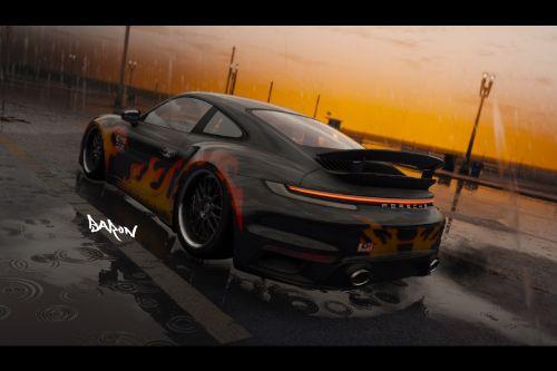 NFSMW Baron Livery for 2021 Porsche 911 Turbo S