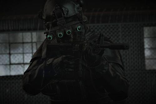 Military skins for Hanako's NVG helmet