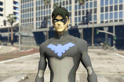 Nightwing Young Justice [Add-On Ped]