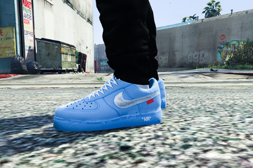 Nike Air Force 1 Low Off-White MCA University Blue