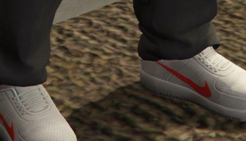 Nike AIR FORCE texture for Franklin shoes