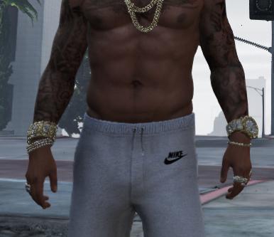 Nike pants for franklin