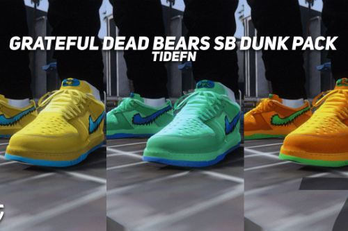 Nike SB Dunk Low Grateful Dead Bears Pack