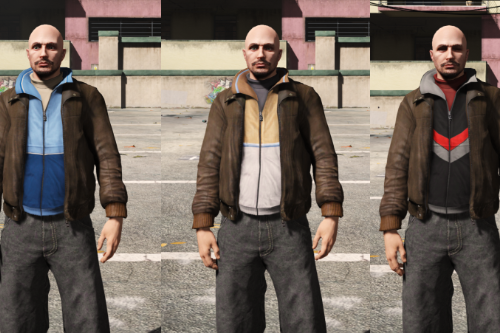 Niko's jacket for MP Male