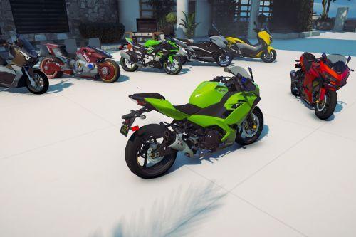 Ninja 250 fi all new [Add-On]
