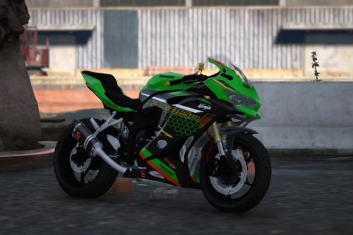 Ninja Zx 25R kawasaki [Add-on]
