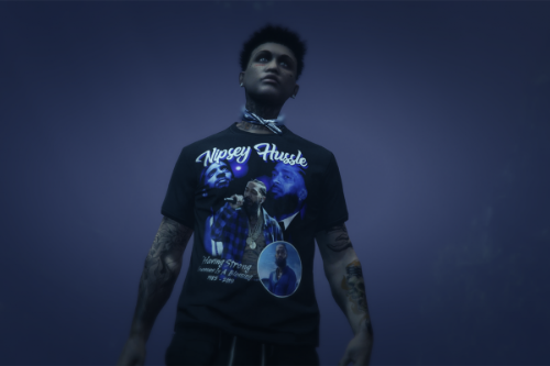Nipsey Hussle Shirt For MP Male
