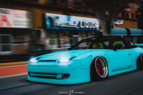 Nissan 180sx 2JZ [Add-On / Replace | Extras | RHD]