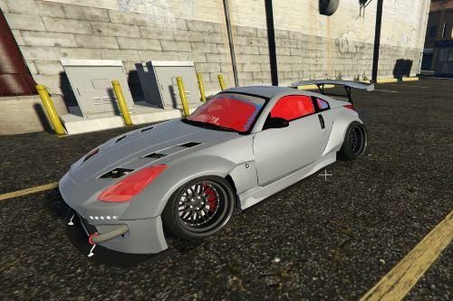 Nissan 350z Rocket Bunny Kit [Stanced] Retexture