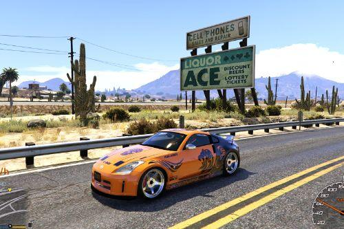 "Nissan 350Z ""Tattoo"" Paintjob"
