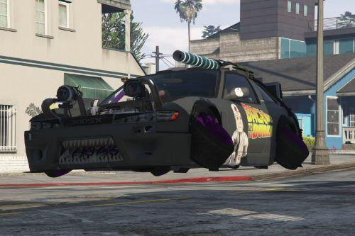 Nissan 380SX (Add-on, Moving engine parts, Template, Flying, Guns, Tuning, RUS/ENG)