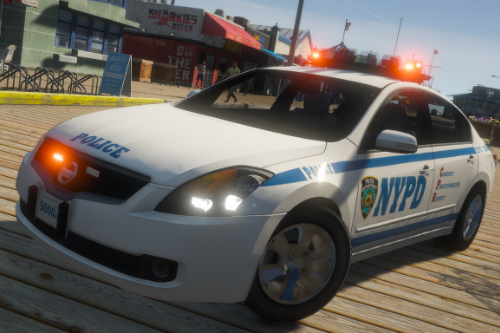 Nissan Altima Hybrid NYPD [ELS]
