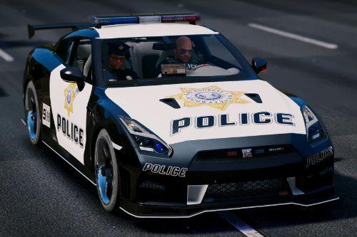 Nissan GT-R Nismo Police Edition [Add-On | Tuning]