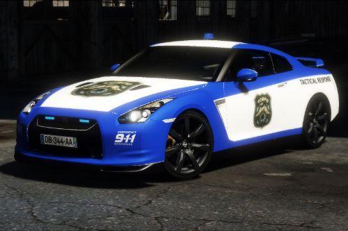 Nissan GTR-35 NFS Police (Livery)