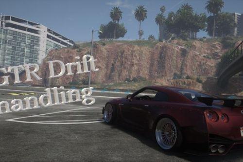 Nissan gtr drift handling