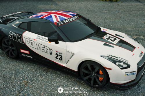 [Nissan GTR (R35)]FIA GT livery