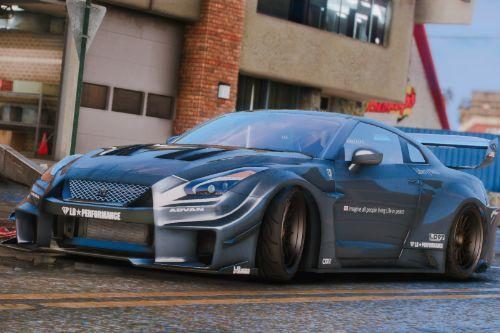 Handling for Nissan GTR R35 Liberty Walk Silhouette