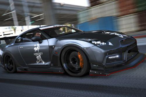 Nissan GTR (R35) [Add-On | Tuning | RHD | Template]