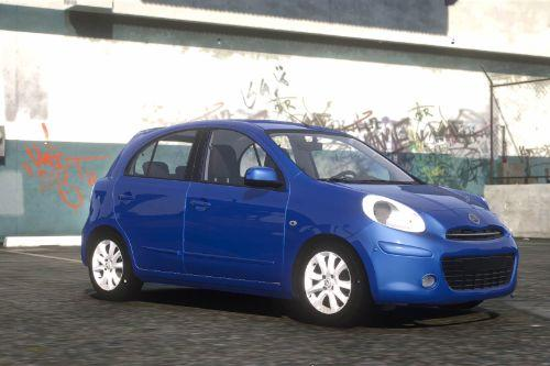 Nissan March 2012 [Replace]