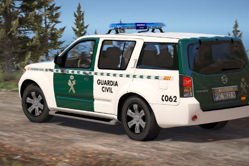 Nissan Pathfinder Guardia Civil Seguridad Ciudadana [Replace | ELS]