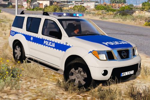 Nissan Pathfinder polish police [ELS]