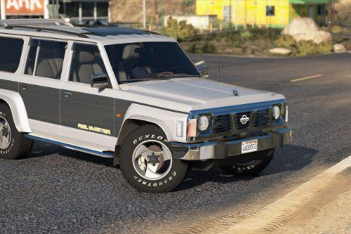Nissan Patrol Super Safari Y60 1997 LWB [Add-On / Replace | Livery | Extras | Template]
