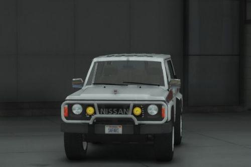 Nissan Patrol Super Safari Y60 1997 SWB [Add-On | Replace | Livery | Extras | Template | Tuning | Dirt]