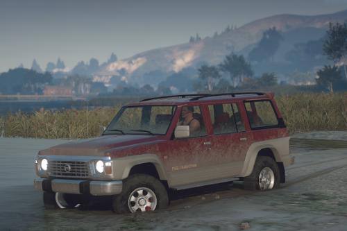 Nissan Patrol Super Safari Y60 1997 [Add-On / Replace]