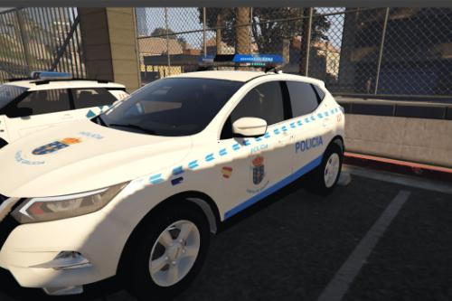 Nissan Qashqai Policía Autonómica de Galicia.