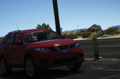 Nissan Rogue 2017 Civilian [Replace / FiveM | Unlocked]