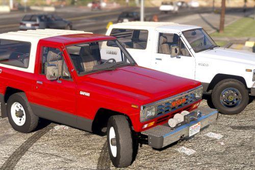 Nissan Safari 1985 Turbo AD'  [Add-On / Replace / FiveM | LODs]