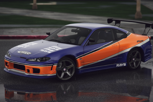 Nissan Silvia S15 2002 - Tokio Drift