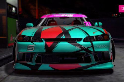 Nissan Silvia S15 RDS paint job