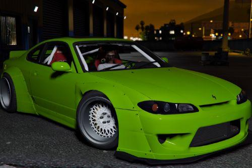 Nissan Silvia S15 Rocket Bunny [Add-On / Replace]