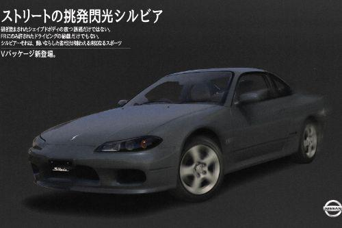 Nissan Silvia S15 Spec-R [Add-On | 150+ Tuning | RHD | Template]