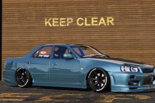 Nissan Skyline ER34 Uras Type R [Add-On | Replace | RHD]