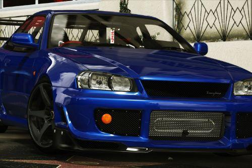 Nissan Skyline GT-R 34 Tommy Kaira [Add-On / Replace | Extras | RHD]