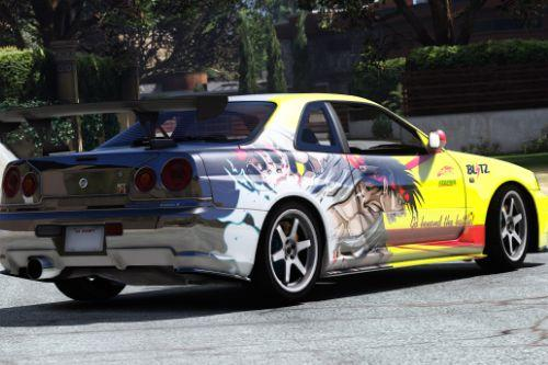 Nissan Skyline GT-R Ryu Vinyl