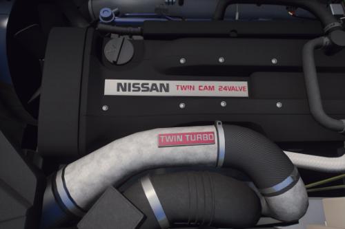 Nissan Skyline R32/R33/R34 RB26DETT I6 Engine Sound [OIV Add On / FiveM | Sound]
