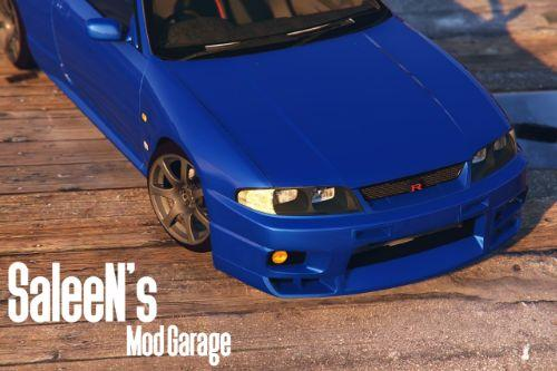 Nissan Skyline R33 GTR [Add-On / Replace]